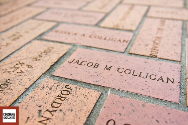 Named Bricks - The named bricks, which pave the Square's surface, were purchased by citizens and local businesses to raise money to build and maintain the Square. There are more than 72,430 named bricks currently in the Square. Famous bricks located in the Square are: Elvis Presley, Jimi Hendrix, Dan Rather, Sherlock Holmes, George Washington, and even Mr. Bill.